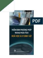 Tham Dinh Phuong Phap Trong Phan Tich Hoa Hoc Va Vi Sinh Vat - DS Tran Cao Son