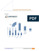 2012 Continuity Risk Benchmarks