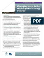 14 Textiles Waste Reduction Factsheet