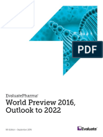 World Preview 2016 Outlook to 2022