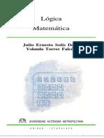 Solis Daun Julio Ernesto Logica Matematica