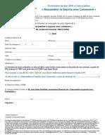 Formulaire de don pour la campagne Lienemann 2017