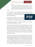 EVOLUCIÓN URBANA DEL DISTRITO DEL CUSCO