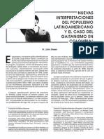 Green Gaitanismo Populismo