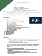 Tema 1 - La Constitución Española de 1978, Título I, Derechos y Deberes Fundamentales