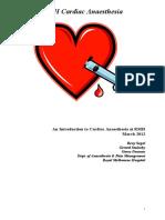 RMH Cardiac Anaesthesia