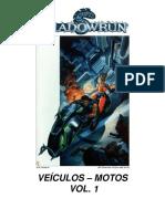 Shadowrun - Veículos - Motos Vol. 1 - Biblioteca Élfica