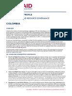 Distribuzione delle terre in Colombia