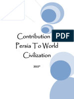 Contribution of Persia to the World Civilization 2015 (R)