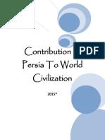 Contribution of Persia to the World Civilization 2015 (R)
