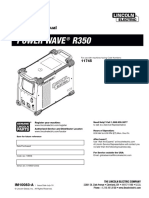 Manual Power Wave 350