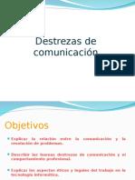 Destrezas de Comunicacion