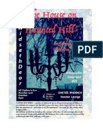 House on Haunted Hill with Widseth and Deor A3 poster