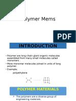 Polymer Mems