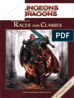 Wizards Presents Races and Classes