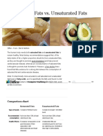 Saturated Fats vs Unsaturated Fats - Difference and Comparison _ Diffen