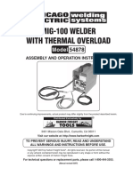 mig 100 welder manual