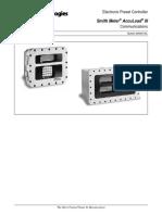 Manual Protocolo de Comunicación Accuload III