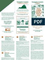 Fauquier County Farm Tour 2016 brochure