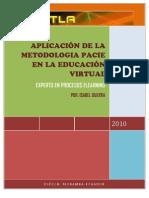 APLICACIÓN DE LA METODOLOGIA PACIE EN LA EDUCACIÓN VIRTUAL