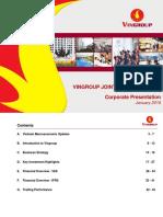 Investor Presentation January_2016 Vingroup