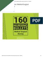 160 Nursing Bullets_ Medical-Surgical Nursing Reviewer