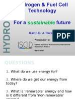 hydrogenandfuelcelltechnologyforasustainablefuture-090315041058-phpapp01