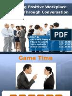Positive Conversation