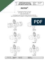 Acoplamientos elasticos ROTEX
