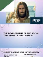 5 Development of the Social Teaching