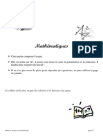 Cahier Vacances Verdun 2007-Math2