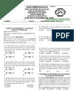 Ojo Este Es Taller de Apoyo Al Examen Final de Estadistica Descriptiva Comfacauca 2012-2