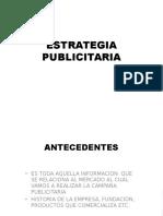 Estrategia Publicitaria