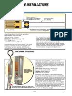 Strain Gauge Installation Examples