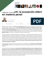 Caso Aliverti_ La Acusación Alternativa o Subsidiaria en Materia Penal _ Gabriel Iezzi _ Infobae