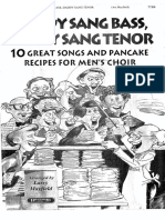 Daddy Sang Bass Daddy Sang Tenor--Choral Book-- Larry Mayfield--Brentwood Music