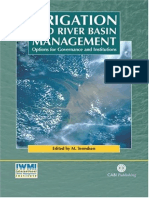 Irrigation and River Basin Managem-Mark_Svendsen
