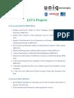 Java Ieee 2015 Project List