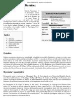Ceballos Ramírez, Manuel - Datos Bio. y Obra Historiográfica
