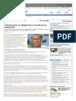 Consternación en Magaluf Por La Muerte de Un Empresario - Diario de Mallorca