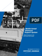 Mobile Armed Dismount Support System Mobile Firepower for the First Forces Into the Fight-2