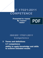 Iso Iec 17021 2011 Competence