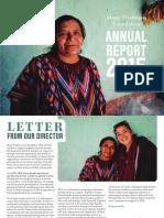 MTF Annual Report 2015