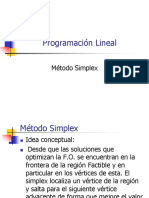 06 Método Simplex