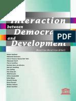 Democracy and Development Boutros Ghali