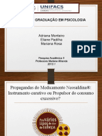 Apresentação Da Análise de Conteúdo Neosaldina II