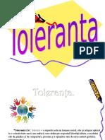 Toleranta Pentru Un Viitor Mai Bun