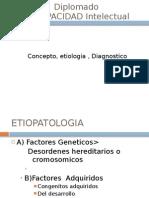 conceptos, etiologia DI