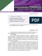 Info Recurso Extraordinario Federal.fede
