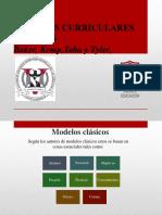 Modelos Curriculares Clásicos y Enfoques Alternativos